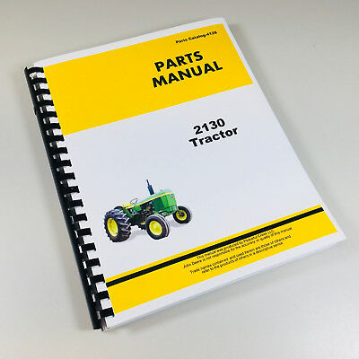 Parts manual for john deere 2130 tractor catalog assembly exploded parts manual for john deere 2130 tractor catalog assembly exploded views numbers ccuart Choice Image