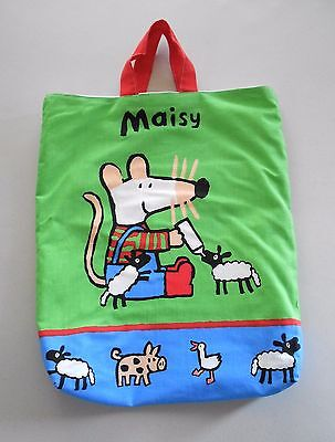 New Adorable Maisy Mouse Bag with Farm Animals Picture Book Series