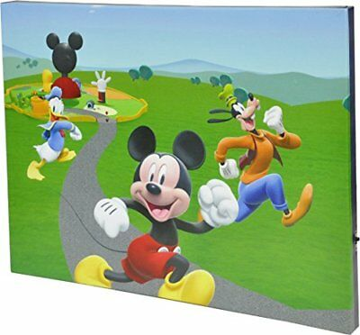Idea Nuova - LA Disney Mickey Mouse Canvas LED Wall Art