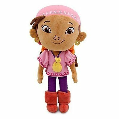 Disney Jake and the Never Land Pirates Izzy Plush -- 11 H by