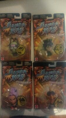 NEW SHONEN JUMP SHAMAN KING AMIDAMARU, Bason, Tokageroh, and Lee Pai-Long Figure