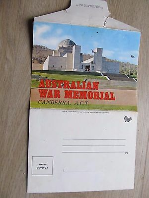 Vintage Garrick Foldout Colour View Folder, Australian War Memorial ACT