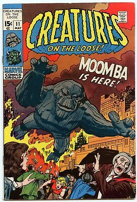 Creatures on the Loose 11 May 1971 FI- (5.5)