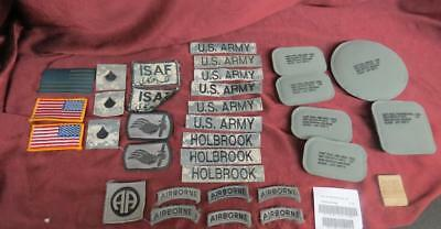 Lot of U.S. Army Pads and Patches