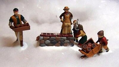 "DEPT 56 Dicken's Village Series ""Tending the Cold Frame"" 3pcs."