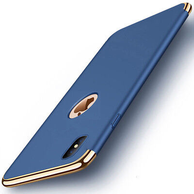 LUXURY Hybrid Shockproof Ultra thin Hard Back Case Cover For iPhone X 8 Plus