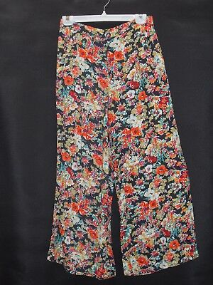 1990's Vintage High Waisted Floral Hippy Pants.