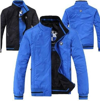 new autumn Double side wear jacket BMW fashion leisure coat