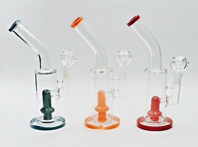 Hookah Water Pipe Bong Glass 12 inch color shower looks good works great