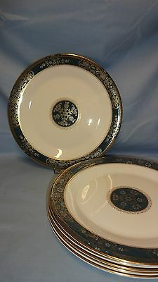 "Royal Doulton Carlyle 10.5"" Dinner Plates x 6"