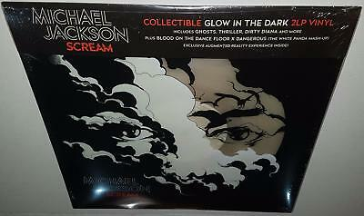 Michael Jackson Scream (2017 Release) Brand New Sealed Glow In The Dark Vinyl Lp