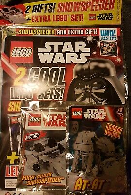 LEGO Star wars issue 11oct-7nov 2017 PLUS 2 free gifts