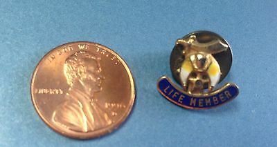 Vintage Shriner Life Member Lapel - Hat Pin