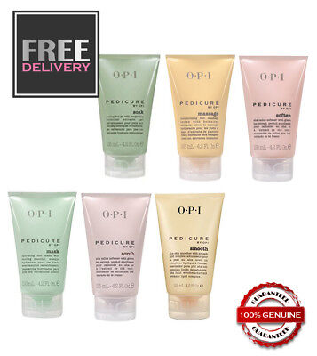 PEDICURE by OPI ~ Soak Massage Smooth Mask Soften Scrub ~ FREE & FAST POSTAGE