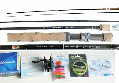 Shakespeare 6/7 Carbon Fly 285 cm Rolle 6/7 Fly-Schnur Backing Fliegen usw