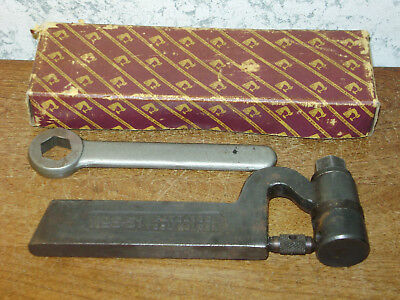 ARMSTRONG BROS SPRING THREADING TOOL w/ BOX & WRENCH