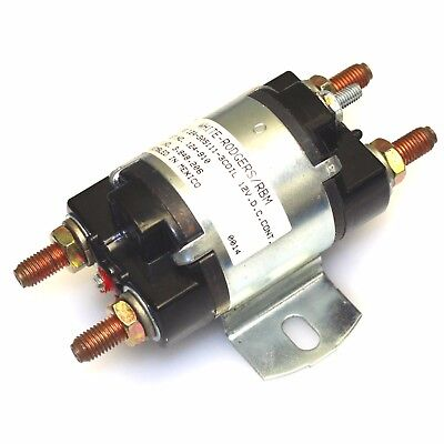 Stancor 124-910 DC Power Contactor Type 124-305111 3 Coil 12V NEW!