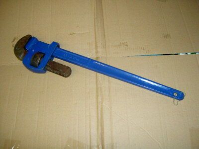 "Record Pipe Wrench Stilsons 24"" X Demo Model Jaws Never Used"