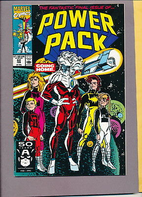 Power Pack 62 Last issue VF+ 8.5 Tough Find HTF