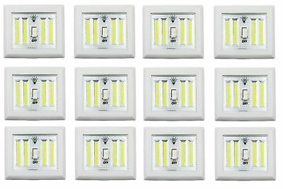 COB Promier LED Wireless Night Light With Switch - 12 PACK