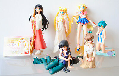 Bandai Sailor Moon World HIGF Part 3 Gashapon Figure gacha set Bandai Japan used
