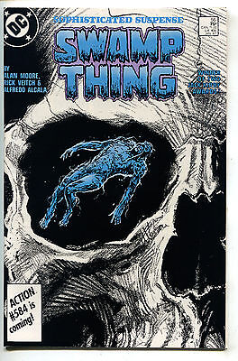 Swamp Thing 56 DC 1987 NM- Alan Moore Stephen Bissette Skull