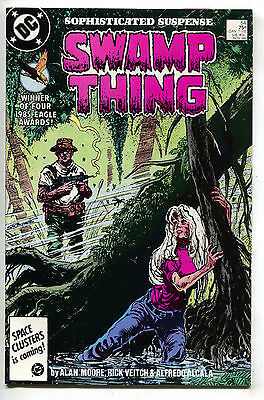 Swamp Thing 54 DC 1986 NM Alan Moore Stephen Bissette