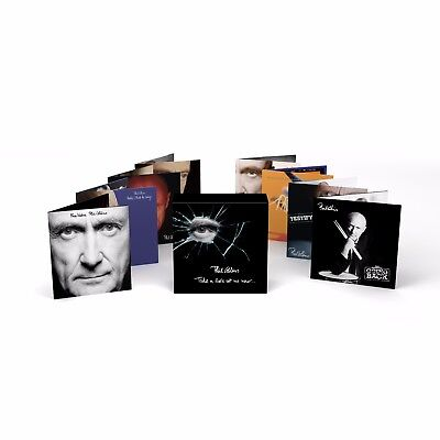 Phil Collins - Take a Look at me Now...- New 8CD Slipcase - Pre Order - 24/11