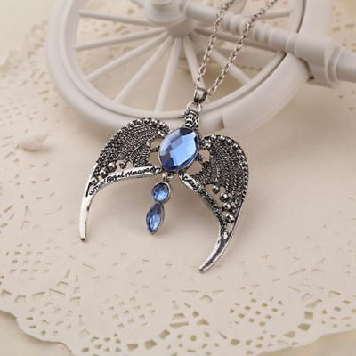 Harry Potter Fan Ravenclaw Lost Diadem Horcrux Tiara Crown Pendant Necklace #sw
