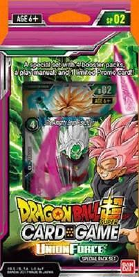 Dragon Ball Super Tcg Union Force Special Pack Booster Sealed Set Series 2