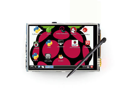"""3.5"""" HDMI LCD Display Touch Screen for Raspberry Pi 2 3 Model B+ W/ Pen"""
