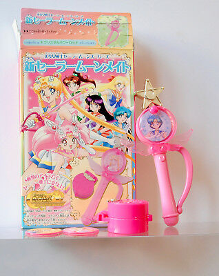 Sailor Moon SuperS World Accessory Mate Candy Toy RP Wand Crystal Power Rod