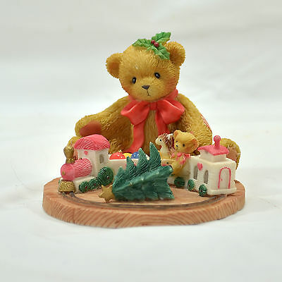 "Enesco Cherished Teddies ""Terry"" Always Stay On Track About..."" - 2001 #865095"