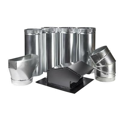 Master Flow 7 in. Appliance Vent Kit - Roof   FREE SHIPPING