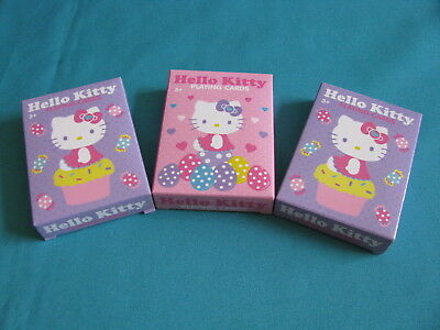 Lot of 3 Hello Card Playing Cards / Card Decks
