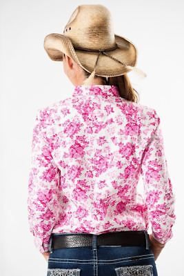 Outback Supply Co | Womens Petal Pink Rose Shirt