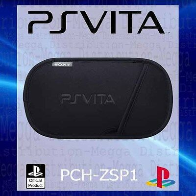Official Sony PS Vita Slim Dust + Scratch Proof Neoprene Carry Case/Slip Pouch