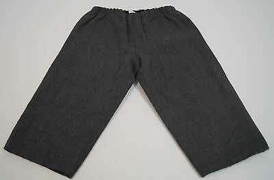 BONPOINT Baby Boy Charcoal 100% Wool Elasticated Waist Winter Trousers 18M