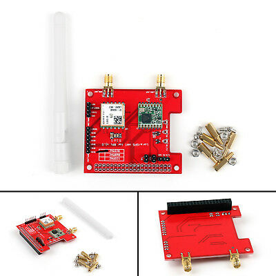 Long Distance Wireless 433/868/915 Mhz Lora/GPS Expansion For Raspberry Pi US