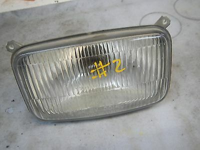 Headlight Head Light Bulb Housing #2 1986 Polaris Indy Trail 488 500 0860761