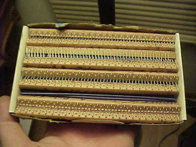 """Box Of 20 New Old Stock No. 1A Galvanized Clipper Lacing Hooks 3/32""""-1/8"""" Belt"""