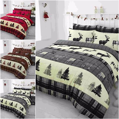 Heritage Stage Bedding Winter Christmas Duvet Cover & Pillow Cases Quilt Covers