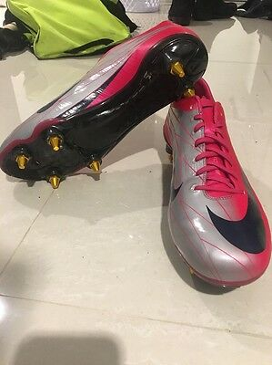 sports shoes b5764 67d8f NIKE MERCURIAL VAPOR Superfly II Elite FG SL R9 Cr7 iii Size 10.5 Soccer  Rare