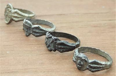 EXTREMELY RARE 1920's TARZAN PREMIUM RING 4 PIECE SET ! NEVER SEE ALL 4 TOGETHER
