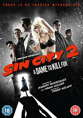 Sin City 2: A Dame to Kill For [DVD] DVD New and Sealed R2