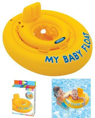 Baby Float Swimming Aid Swim Seat 6 month To 1 Year Double Valves Diaper style