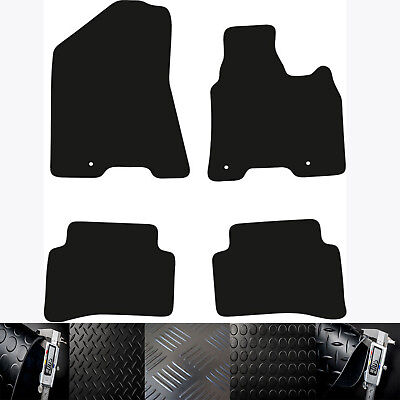 Kia Sportage (2016 To Date) New Choice Of Black Rubber Tailored Car Floor Mats