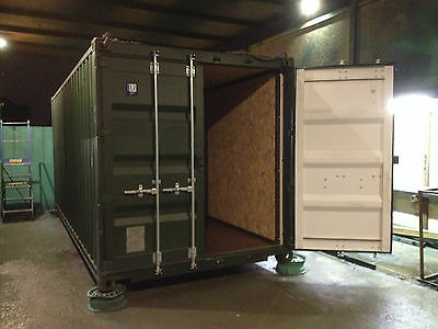 20ft x 8ft plylined Shipping Container - Southampton