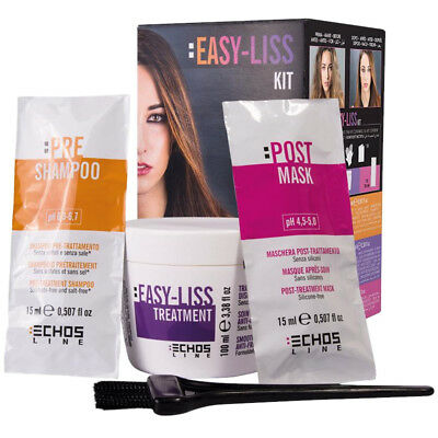 Easy-Liss Kit Echos Line ® Senza Formaldeide Free lasts up to 10 Week settimane