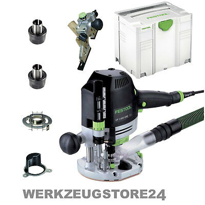 Festool Oberfräse OF 1400 EBQ-Plus im Systainer SYS 4 TL - 574341